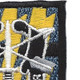 12th Special Forces Group Flash W/Crest Patch | Upper Right Quadrant