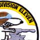 COSDIV-11 Coastal Division Eleven Patch | Upper Right Quadrant