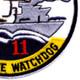 COSDIV-11 Coastal Division Eleven Patch | Lower Right Quadrant
