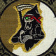2nd Squadron 6th Aviation Attack Air Cavalry Regiment Company C Patch OD   Center Detail