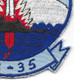 VS-35 Sea Control Squadron Patch | Lower Right Quadrant