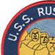 USS Rushmore LSD-14 Patch   Upper Left Quadrant