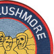 USS Rushmore LSD-14 Patch   Upper Right Quadrant