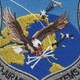 USAF Air to Air Missile Systems Wing Patch   Center Detail