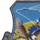 USAF Air to Air Missile Systems Wing Patch   Upper Left Quadrant