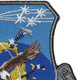 USAF Air to Air Missile Systems Wing Patch   Upper Right Quadrant