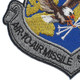 USAF Air to Air Missile Systems Wing Patch   Lower Left Quadrant