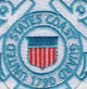 United States Coast Guard Crest Embroidered Patch | Center Detail