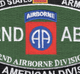 82nd Airborne Division MOS Patch | Center Detail