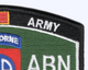 82nd Airborne Division MOS Patch | Upper Right Quadrant