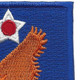 2nd Air Force Shoulder Patch | Upper Right Quadrant