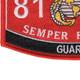 8151 Guard MOS Patch | Lower Left Quadrant