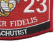 8023 Parachutist MOS Patch   Lower Right Quadrant