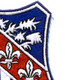 327th Airborne Infantry Regiment Patch   Upper Right Quadrant