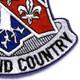 327th Airborne Infantry Regiment Patch   Lower Right Quadrant