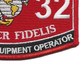 2532 MOS Microwave Equipment Operator Patch | Lower Right Quadrant