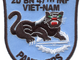 2nd Battalion 47th Infantry Regiment Patch Mechanized Viet-Nam Panthers