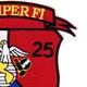 1st Battalion 25th Marines 4th Division Patch | Upper Right Quadrant