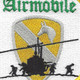 1st Air Cavalry Airmobile Patch   Center Detail