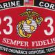 2336 Explosive Ordnance Disposal Technician MOS Patch   Center Detail