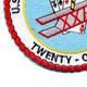 21st U.S. Naval Mobile Construction Battalion Patch | Lower Left Quadrant
