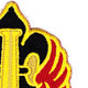 18th Field Artillery Fire Brigade Patch   Upper Right Quadrant
