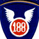 188th Airborne Infantry Regiment Patch - Version D | Center Detail