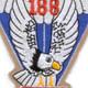 188th Airborne Infantry Regiment Patch - Version A   Center Detail