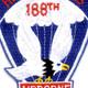 188th Airborne Infantry Regiment Patch - Airborne   Center Detail