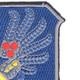 188th Airborne Infantry Regiment Patch   Upper Right Quadrant