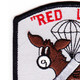 187th RCT Red Legs Mortar Batter Patch y | Upper Left Quadrant