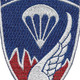 187th RCT Airborne Infantry Patch | Center Detail