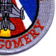 187th Fighter Wing ANG Montgomery AL Patch | Lower Right Quadrant