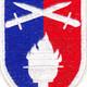 176th Infantry Regimental Combat Team Patch   Center Detail