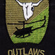 175th Combat Aviation Company Patch Outlaws OD | Center Detail