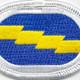 173rd Infantry Regiment Oval Patch | Center Detail