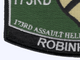 173rd Aviation Assault Helicopter Company Patch - Robin Hoods | Lower Left Quadrant