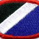 172nd Infantry Regiment Oval Patch | Center Detail