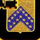 16th Cavalry Regiment Patch | Center Detail