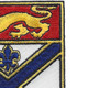 169th Infantry Regiment Patch | Upper Right Quadrant