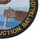 15th Special Naval Construction Battalion WWII Patch | Lower Right Quadrant