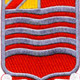 15th Field Artillery Battalion Patch Allons - Version A | Center Detail