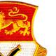 15th Cavalry Regiment Patch | Upper Right Quadrant