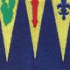159th Infantry Regiment Patch | Center Detail