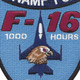 157th Fighter Squadron F-16 Patch | Center Detail