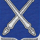 154th Infantry Regiment Patch   Center Detail