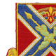 151st Field Artillery Regiment Patch | Upper Left Quadrant