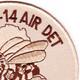 14th Mobile Construction Battalion Air Det Seal Team 14 Patch   Upper Right Quadrant