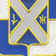 144th Armor Inf Battalion Patch   Center Detail
