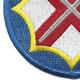 142nd Battlefield Surveillance Brigade Patch   Lower Left Quadrant